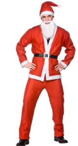 Budget Santa Father Christmas fancy dress costume